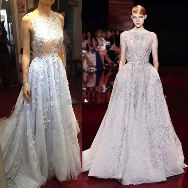 Venta al por mayor elie saab vestido de noche-Compre online los ...