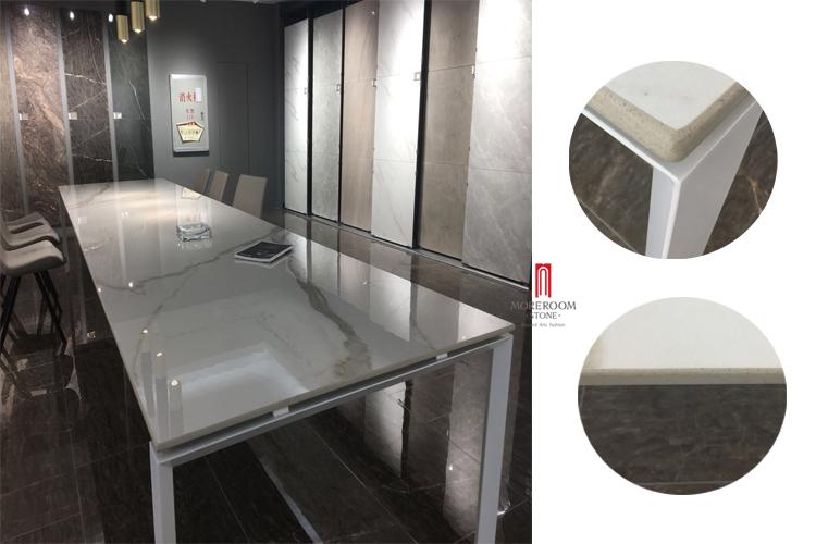 large format porcelain tile white floor big size 800x1800mm design marble calacatta look interior biggest tile