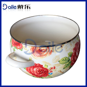 Enamelware Casserole disposable cooking pot