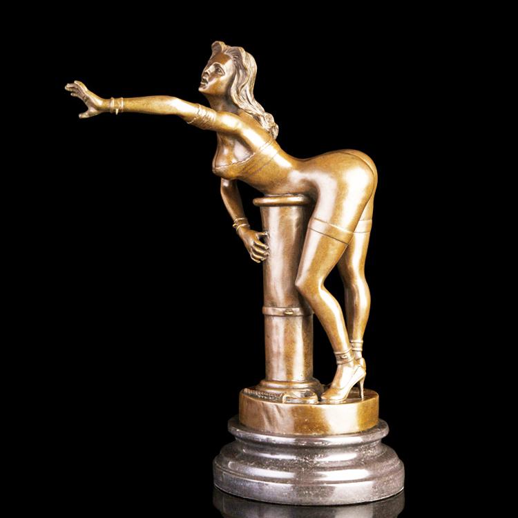 Buy bronze erotic decorative sculptures figurines