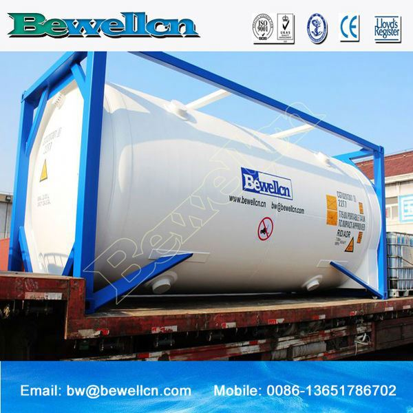 New cng tank container cryogenic iso tank