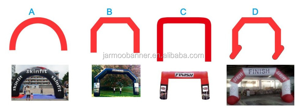 JARMOO Factory Custom Printing Cheap Inflatable Balloon Arch