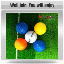 Different color widely used best quality new golf ball wholesale