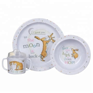 Food Safety Kids Dinnerware Melamine Dinner Set