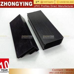 Competivity Construction Window Door And Product Trade Flexible Sheet Plastic Gasket Quality Pvc Upvc Profile Corner Supplier