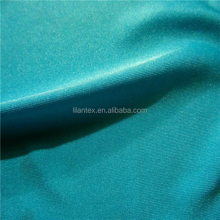 Sales stretch Lycra double four side elastic fabric polyester double elastic Lycra cloth dance clothing fabric