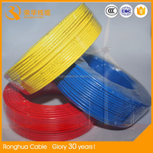 Approved manufacturers PVC insulated non jacket 6 mm electric wire