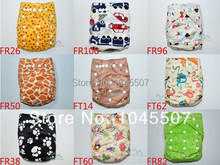 Package Deal Happy Flute Cloth Diaper 4pcs Cloth Diapers With 4pcs 3 Layer Microfiber Inserts Free