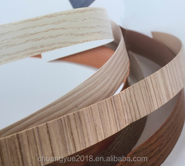 Good Price Wood Grain Pvc Edge Banding For Modern Furniture Accessory
