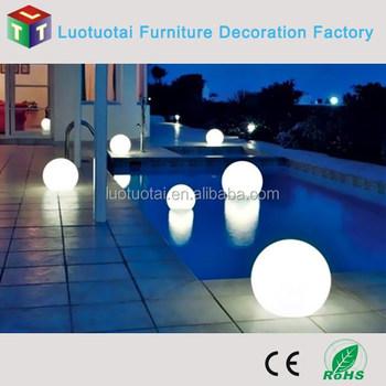 Outdoor Ip65 Waterproof Led Solar Floating Pool Lights Swimming Lighting
