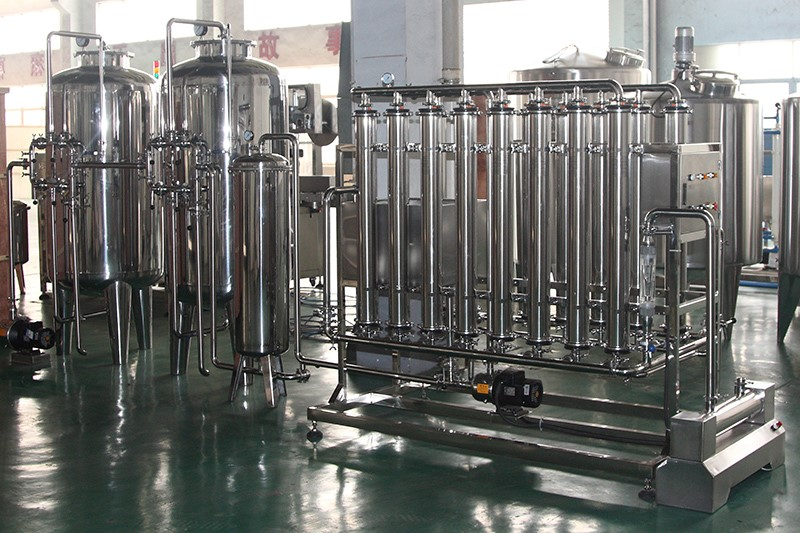 Potable water treatment, water treatment mineral water treatment machine