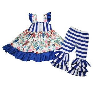 Factory wholesale vietnam kids clothing European style spring clothes knit cotton clothes for child