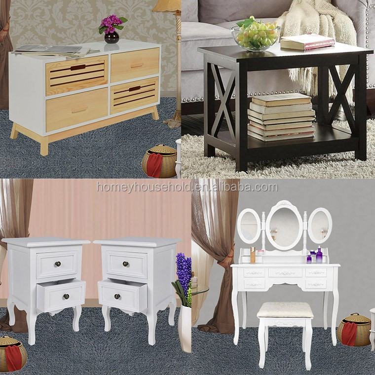 Italian Modern Furniture Drawer Dressers Wooden Storage Cabinets