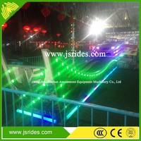 Indoor Playground Ride U shape track flying car electric flying car