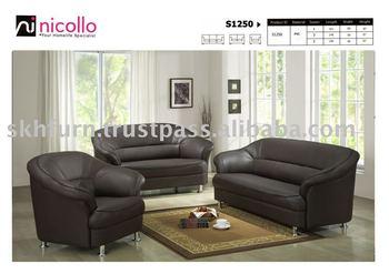 Leather Sofa Set S1250 Buy Sofa Set Leather Sofa