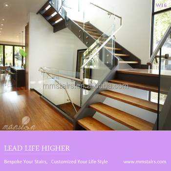 Professional Stairs Grill Design Glass Railing Wood Stair Buy Glass