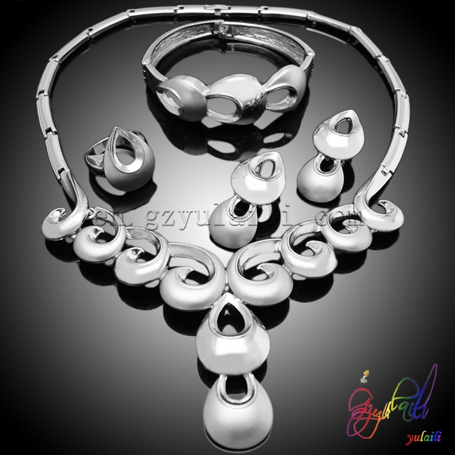 china supplier jewelry sets hot pink jewelry sets wedding jewelry stainless steel jewelryset