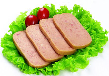 High quality 198g*24tins chicken luncheon meat for Africa