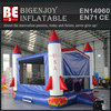 USA rocket bounce house inflatable modual bounce house with banner