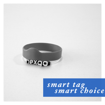 RFID Silicone Wristband Tag Used In Fitness Center