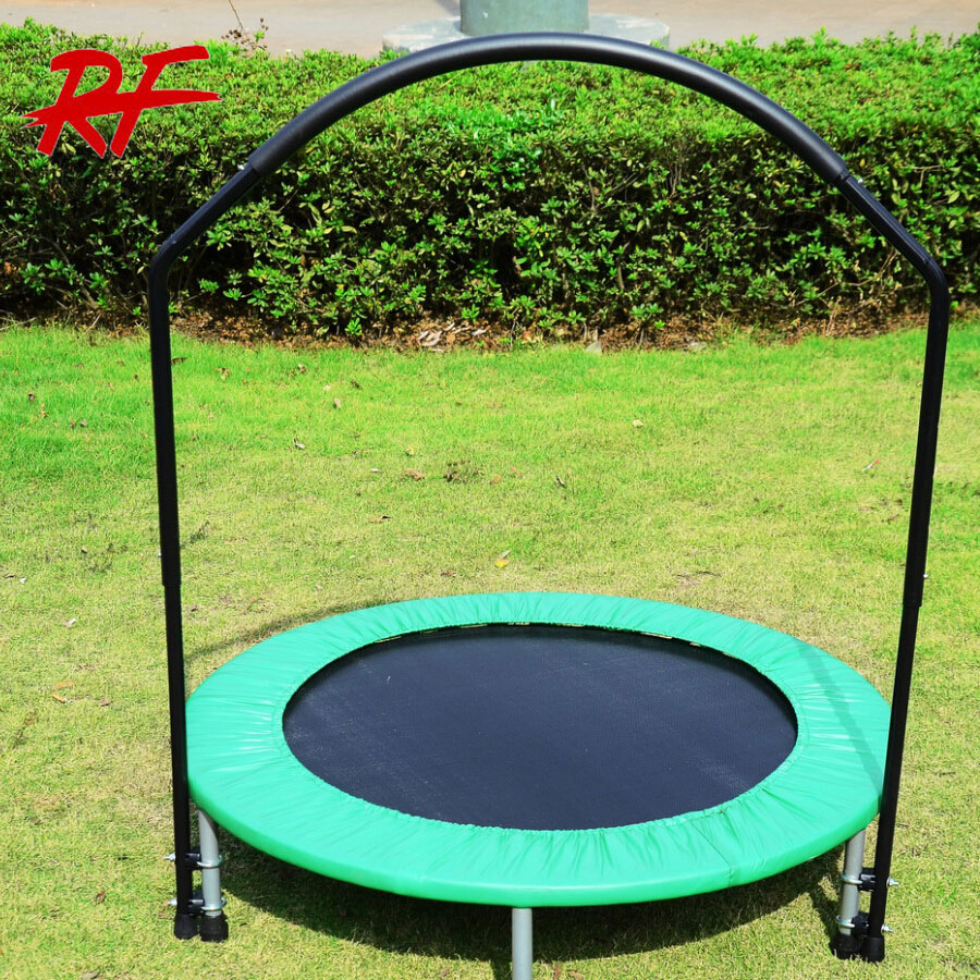 cheap foldable mini trampoline with handle for sale