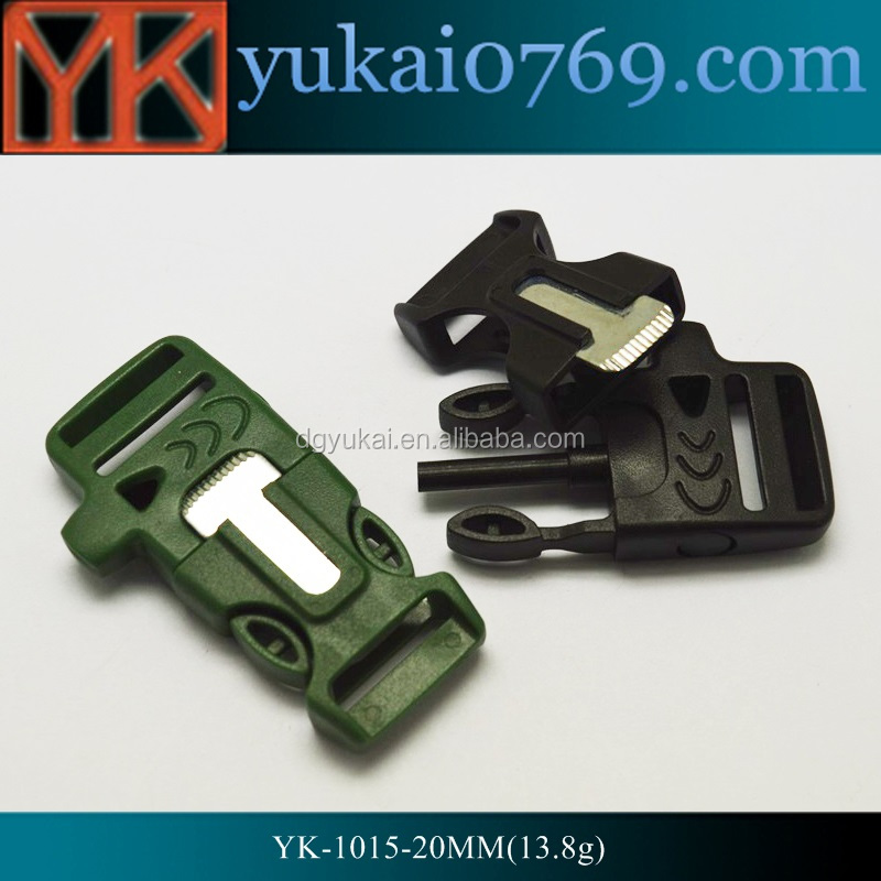 Home & Garden 3/4 1 Tri-glide Slider Adjust Buckle Hardware Plastic Outdoor Backpack Apparel Straps Webbing Bag Parts