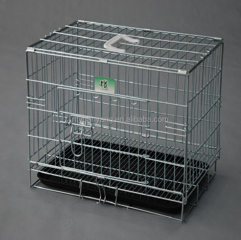 wholesale foldable wire mesh dog cages