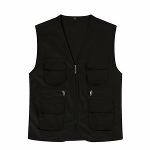 Zipper Work Supermarket Promotional Waistcoat