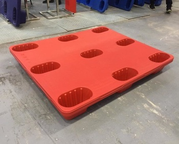 1100*900 hygienic virgin blow mould plastic pallet