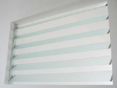 plantation shutters, 3-6mm glass louvers/shutters for door/window