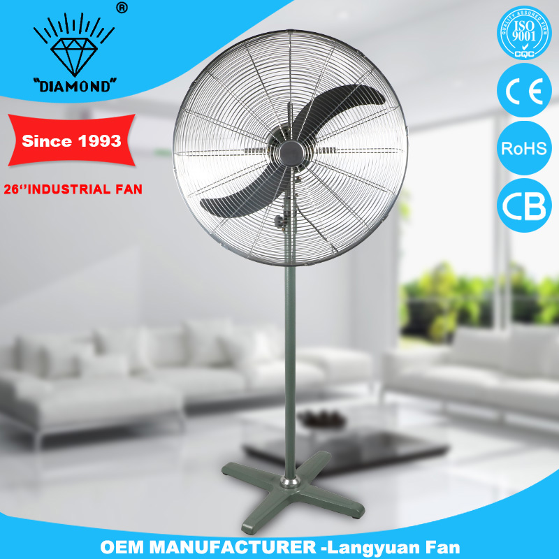 Professional big stand fan industry oscillating fan with high quality