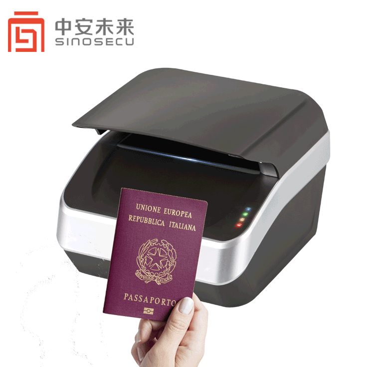 Airport Gate Scanner Airline Desktop Counter Check in Mrz Ocr Passport Scanner Egate RFID Ocr Passport Reader