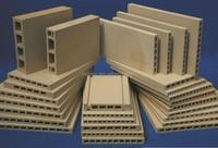 Advanced Ceramics of Cordierite Mullite Extruded Batt/Plate used for sanitary ware