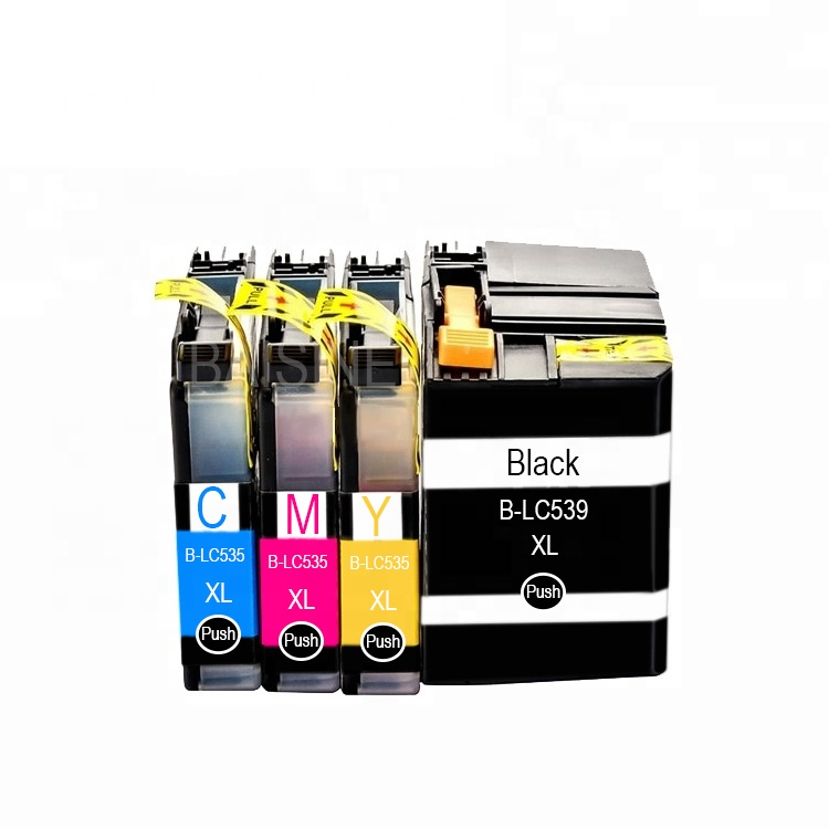 New Goods Premuin Refill Ink Cartridge LC-535 LC-539 Ink Cartridge Compatible for Brother J100 J105 J200 Printer Cartridge