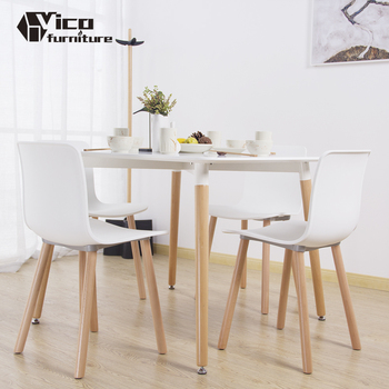 Price List Plastic Wood Living Room Furniture Restaurant Dining