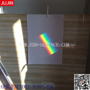 Christmas Gifts University Education Equipment Customized Size Window Prism 30x30x150mm 6""