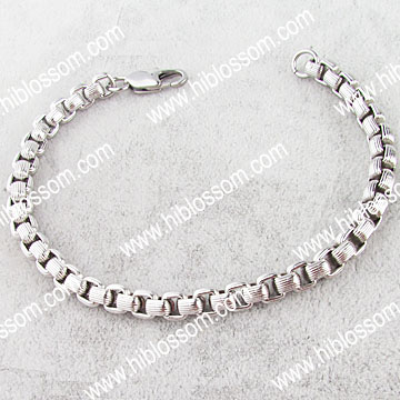 fashion African chain Jewelry Men Prices Stainless Steel Bracelet