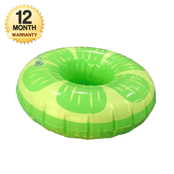 Inflatable Apple Cup Holder Drink Holder Float Pool Coaster for Summer Pool Party