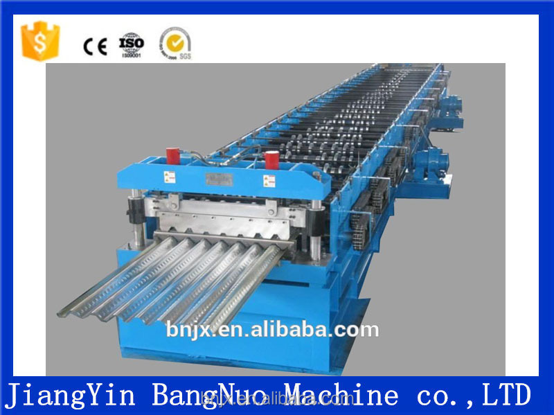 Circle shape metal sheet wave roller former machine rolling form machine in china