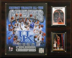 NCAA Kentucky Wildcats All-Time Greats Photo Plaque, 12x15-Inch by C&I Collectables