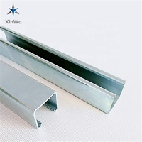 Unistrut Channel cold bend c channel steel strut slotted c channel