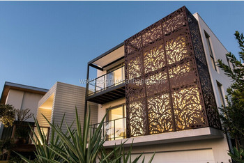 Townsville Metal Art Screens For Exterior Wall Decoration