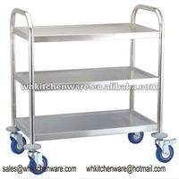 Stainless Steel catering cart for food service equipment