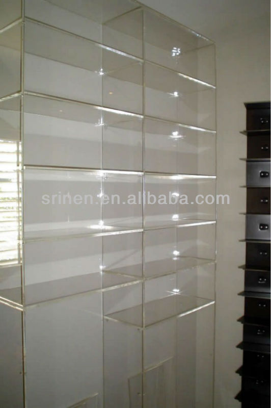 bookcase lucite stunning bookcases vintage shelves storages design with