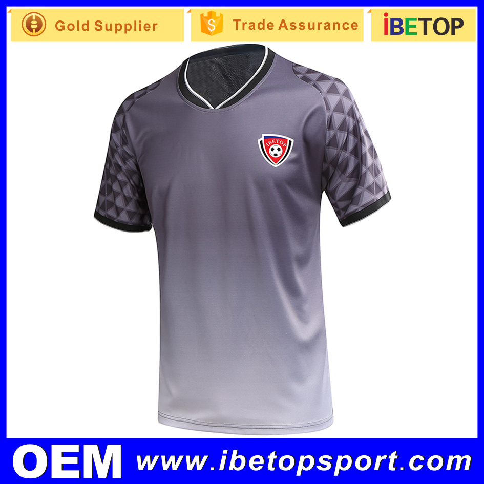 online shopping 100% polyester sublimation football jersey soccer kit custom made in China