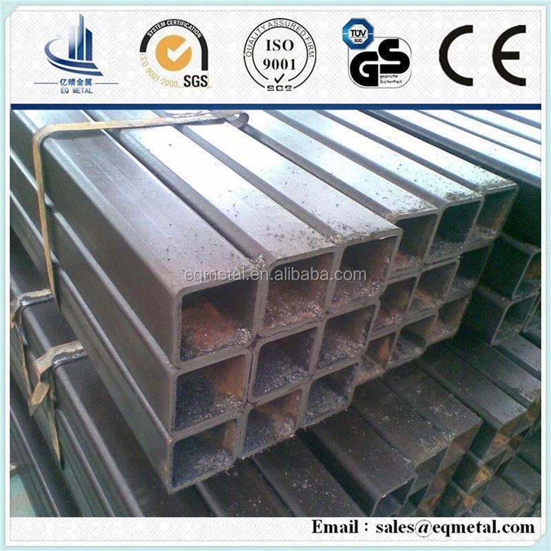 Precio tubo de acero al carbono tubo cuadrado de hierro - Tubo cuadrado acero ...