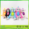 SGS authorized long arms crochet cartoon plush stuffed monkey toys