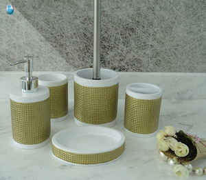 Factory Wholesale Custom Cheap Bath Set 5 Pieces Bathroom Accessories