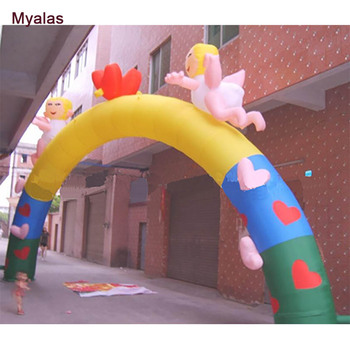 inflatable Wedding arch,commercial inflatable arch,lovely inflatable arches
