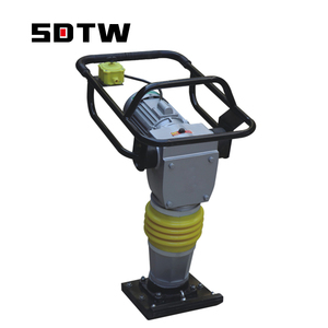 Low Price Electrical Soil Tamper Compactor Hand Held Mini Vibrating Electric Rammer Plate Compactor
